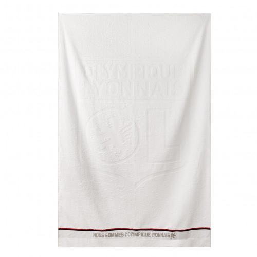 Drap de bain Nous sommes L'Olympique Lyonnais. - Taille - Unique