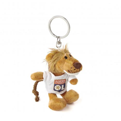 Porte clef peluche Lion 10cm avec T-shirt