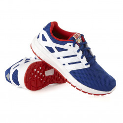 Blue OL adidas Cloud Running Shoes Blue