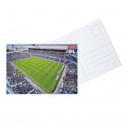 Carte Postale Stade Intérieur Vue Haute