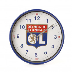 Horloge murale Logo Olympique Lyonnais
