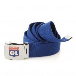Olympique Lyonnais Blue Fabric Belt