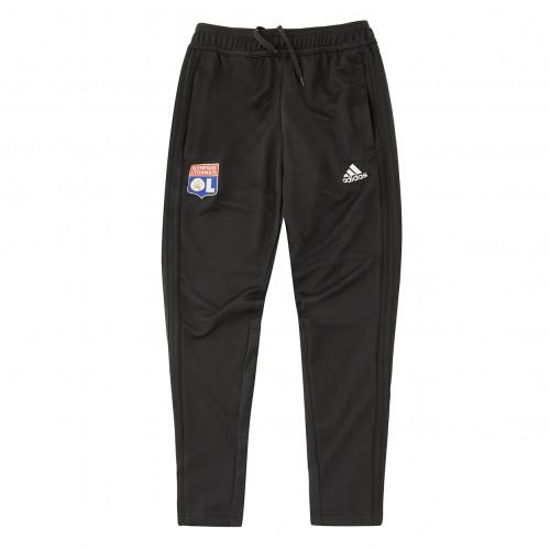Pantalon Entrainement adidas Olympique Lyonnais Junior Noir 2018/2019