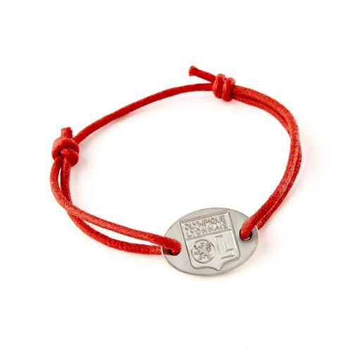 Bracelet cordon OL - Couleur - BLANC