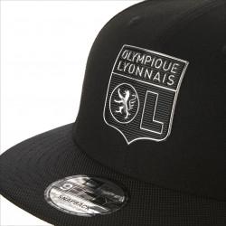 Casquette Snapback Adulte New Era x Olympique Lyonnais Noire