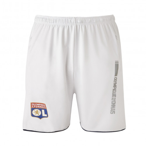 Short Training Blanc Junior RefleKt Olympique Lyonnais - Taille - 5-6A