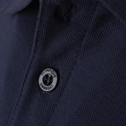 Polo OL bleu marine logo vintage