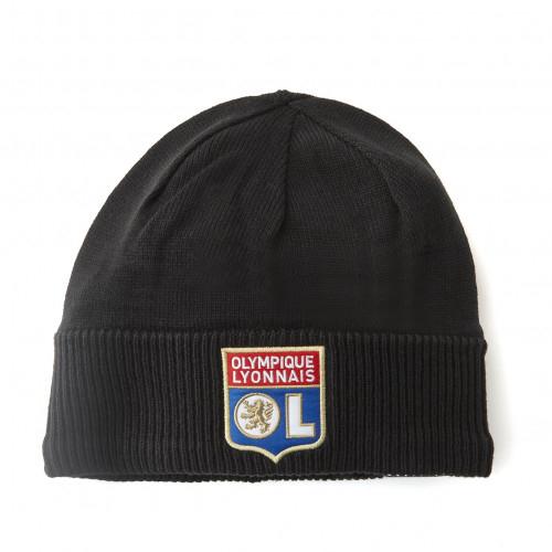 Bonnet adidas OL Noir 18-19 - Taille - Unique