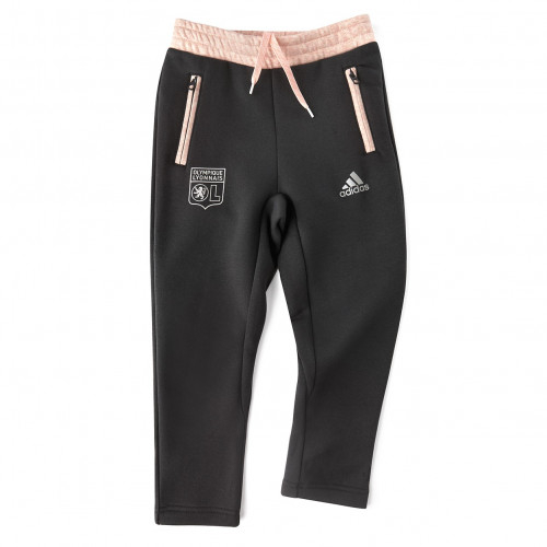 Pantalon de Survêtement Fillette Rose/Carbon