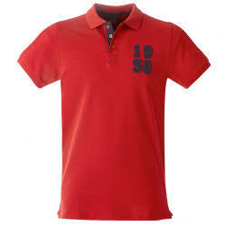 Polo Homme rouge 1950