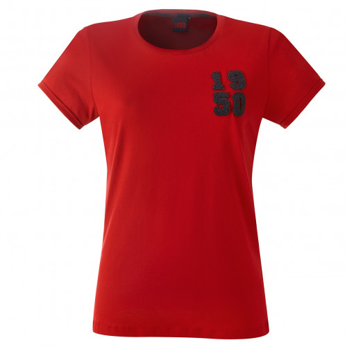 T-shirt Femme rouge 1950 - Taille - 2XL