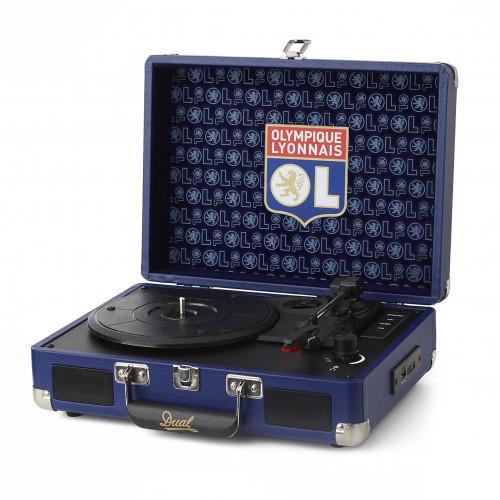 Valise Vinyle Bluetooth Olympique Lyonnais