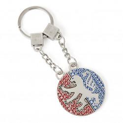 Porte-clés 2 pièces Pin's