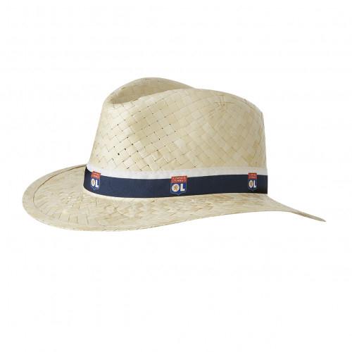Chapeau de paille OL - Taille - Unique
