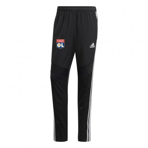 Pantalon d'entrainement hiver noir OL adidas 2019/2020 - Taille - XL