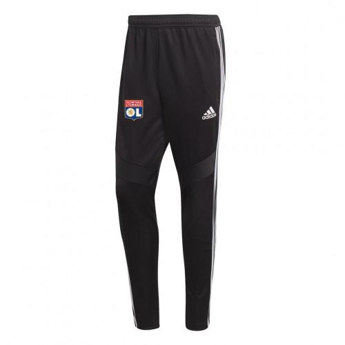 Pantalon d'entrainement Noir Adulte OL adidas 19/20 - Taille - 2XL