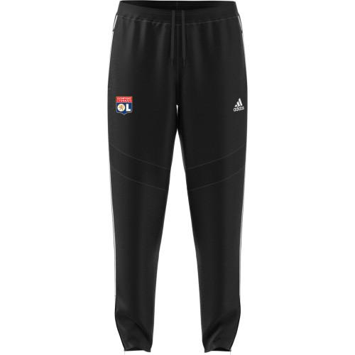Pantalon de survêtement Noir Adulte OL adidas 19/20 - Taille - XL