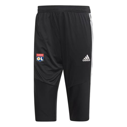 Pantalon 3/4 noir OL adidas 19-20 - Taille - 2XL