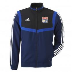 Navy Blue Tracksuit jacket OL adidas 19/20