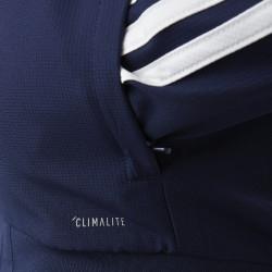 Veste de survetement bleu marine adidas 19-20