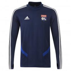 Navy blue round neck training sweatshirt player Junior OL adidas 19-20