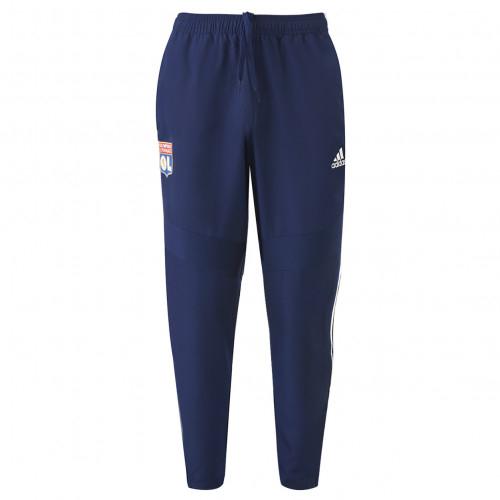 Pantalon de survêtement Bleu marine Adulte OL adidas 19/20 - Taille - 2XL