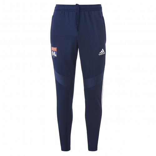 Pantalon d'entrainement Bleu marine Adulte OL adidas 19/20 - Taille - XL