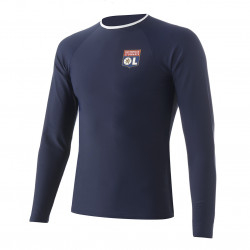T-shirt anti-UV bleu marine OL Junior