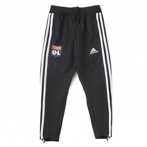 Pantalon d'entrainement Noir Junior OL adidas 19/20 - Taille - 5-6A