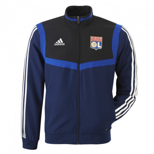 Veste de survetement junior bleu marine adidas 19/20 - Taille - 7-8A