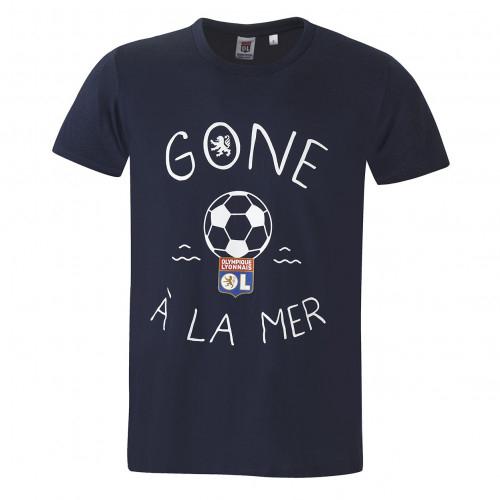 T-shirt Gone à la mer homme bleu - Taille - 2XL