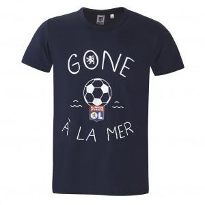 T-shirt Gone à la mer junior bleu