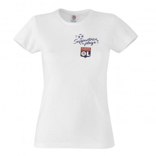T-shirt Supportrice à la plage femme - Taille - XS