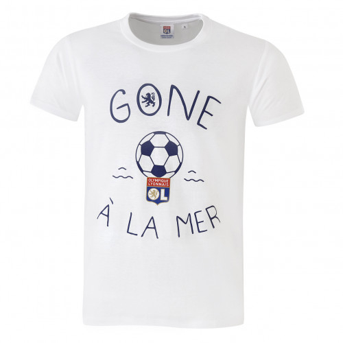 T-shirt Gone à la mer Junior blanc