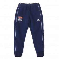 Pantalon détente molleton bleu marine junior OL adidas 19-20