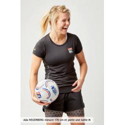 T-Shirt TrainingTeck Gris femme