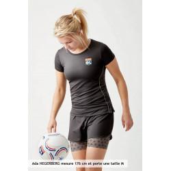 Short TrainingTeck gris Femme