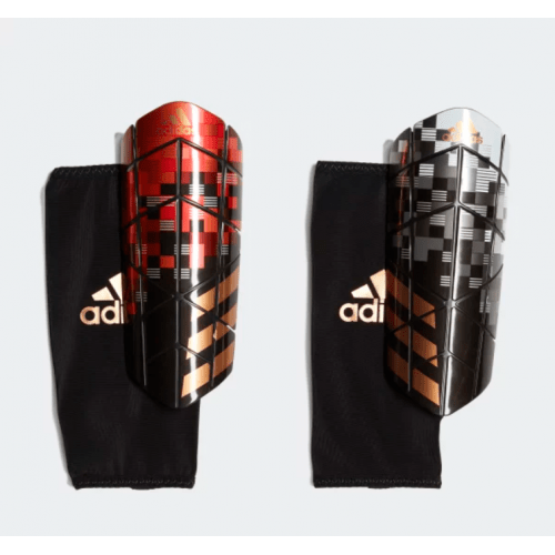 Protege Tibia Telstar adidas Rouge Noir 2018/2019 - Taille - XS