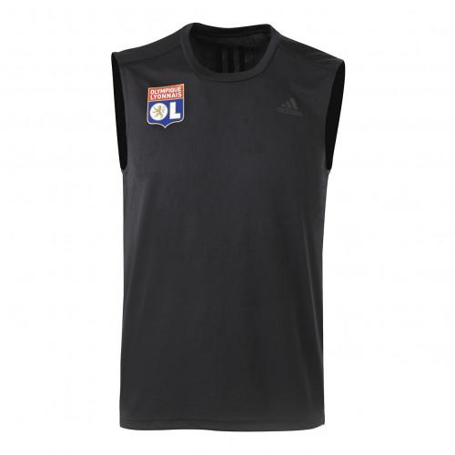 Débardeur noir OL adidas 19-20 - Taille - XL