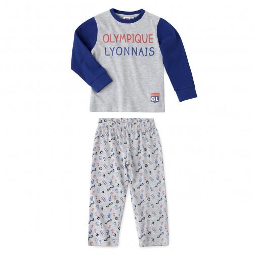 Pyjama Enfant Olympique Lyonnais - Taille - 14-16A