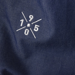 Lifestyle shirt blue 1950
