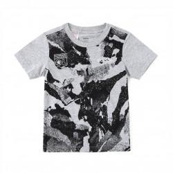 Tee shirt Gris adidas Junior