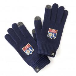 Gants bleue marine OL adidas