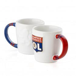 Duo de tasses à café Olympique Lyonnais