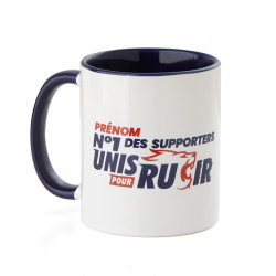 Mug personnalisable N°1 des supporters