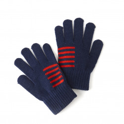 Gants bleu et rouge OL Junior