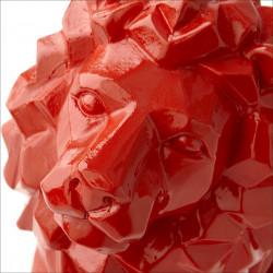 Red Lion Statue 16CM