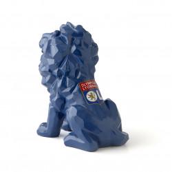 Blue Lion Statue 16CM