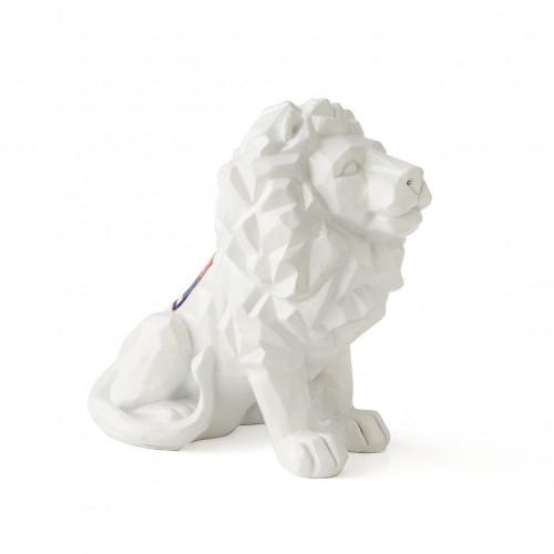 Statue Lion Blanche 16CM