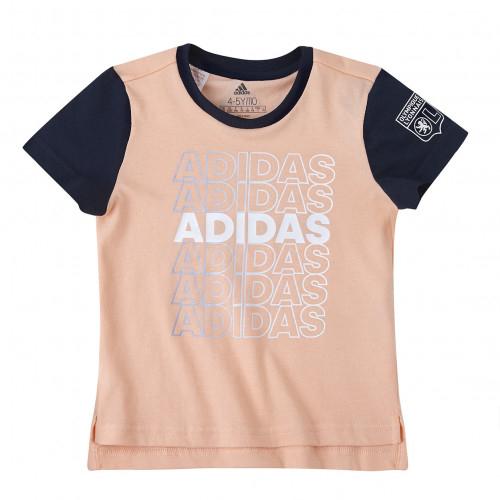 T-shirt fille adidas